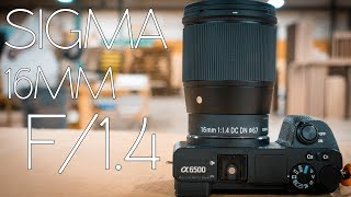"""SIGMA 16MM F/1.4 UNBOXING AND REVIEW - SO GOOD IT SHOULD BE AN """"ART"""" SERIES LENS"""