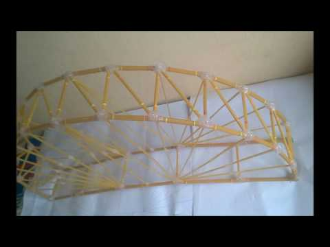 How to Build A Spaghetti Bridge (spagetti köprü yapımı) !!!