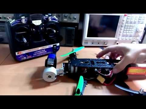 MAKElog#14 cheap china brushless gimbal MOD: downward facing camera view