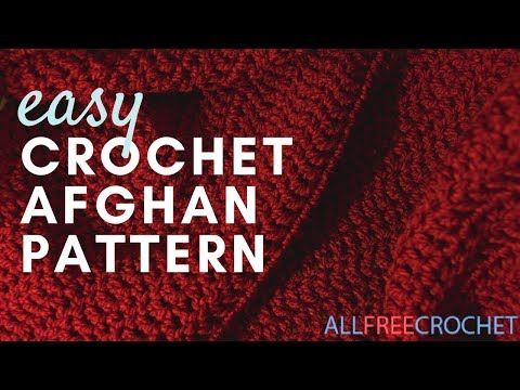 Worlds Easiest Crochet Afghan Pattern