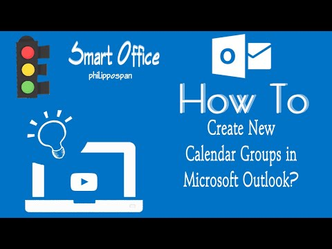 Create New Calendar Groups in Outlook 365