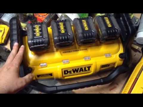 Dewalt Portable Power Station Initial hiccups Feb/March 2017