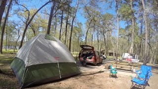 First camping trip with kids (GoPro video)