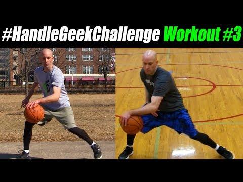 CRAZY V COMBOS! Basketball Handles Workout (Advanced) #HandleGeekChallenge