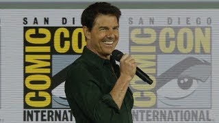 Tom Cruise Surprises Comic-Con with Top Gun: Maverick Trailer