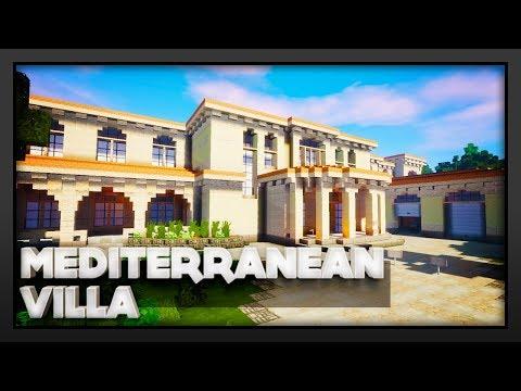 Minecraft - Mediterranean Villa
