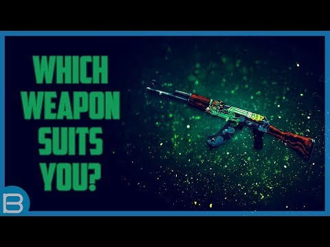 What Type of Modern Weapon Suits You?
