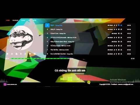 Demo karaoke app cho smartTV
