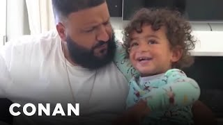 DJ Khaled Wants His Son To Be A Mogul  - CONAN on TBS
