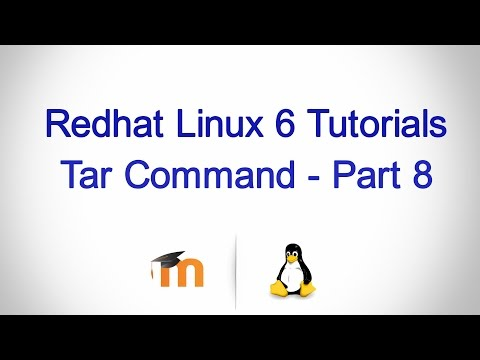 Tar command in Linux - Part 8 ( Extract a single file or a directory from a tar.gz file)