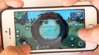 iPhone 5s: Gaming Performance Test in 2018 - Free Fire Gameplay