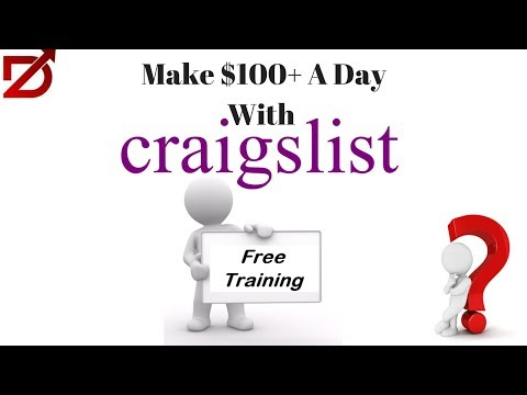 How To Make $100 A Day With Craigslist And CPA | Free CPA Training 2018-2019