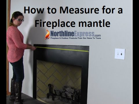 Measuring Your Fireplace For A Fireplace Mantel or Surround