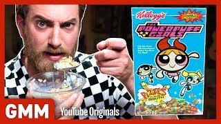 Discontinued Cereal Taste Test