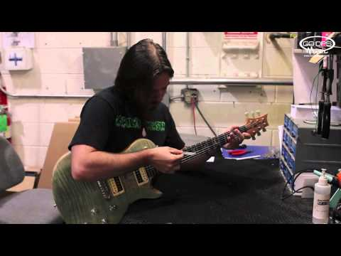 How to set up a Paul Reed Smith PRS SE Electric Guitar Zach Myers Signature