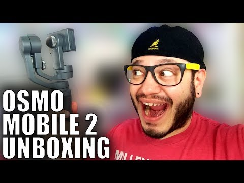 DJI Osmo Mobile 2 Unboxing: Fresh to Def Edition (feat. SomeGadgetBrah)