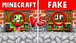 REAL HIDER vs FAKE INVISIBLE HIDER! - MINECRAFT HIDE & SEEK!