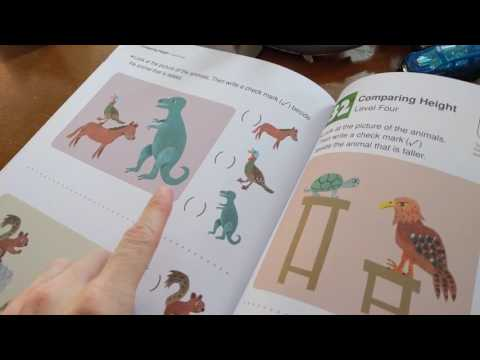 Kumon Pre-K Thinking Skills Workbooks Spatial Reasoning