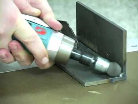 Cleaning a Weld Using a Die Grinder
