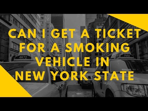 Can I Get A Ticket If My Vehicles Exhaust Is Smoking | Vehicle Exhaust Ticket