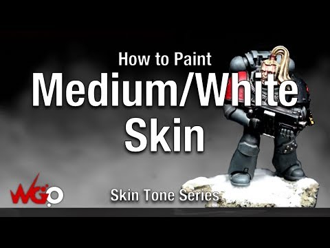 How to Paint Medium/White Skin Tone