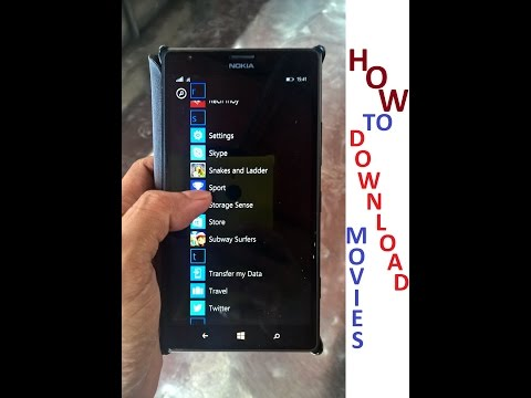 How To Download Movies on Windows Mobile Phones - app
