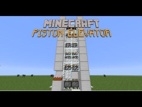 Minecraft Tutorials: Fast and compact piston elevator 1.7.4