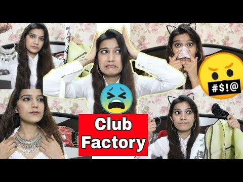 #कड़वा सच ✔️Club Factory Haul | Cheap Price Or Stuff???😠 | Super Style tips