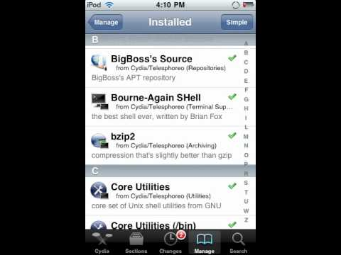 How to delete cydia apps on your iphone or ipod touch.