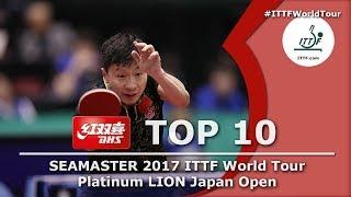 DHS ITTF Top 10 - 2017 Japan Open