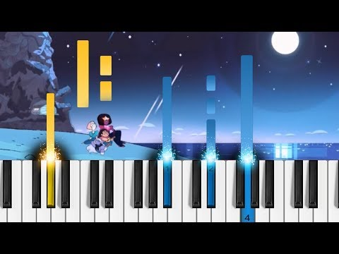 Steven Universe - Change Your Mind - Piano Tutorial