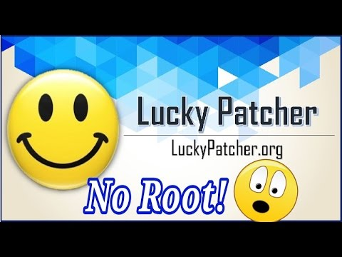 How to use Lucky Patcher without root!