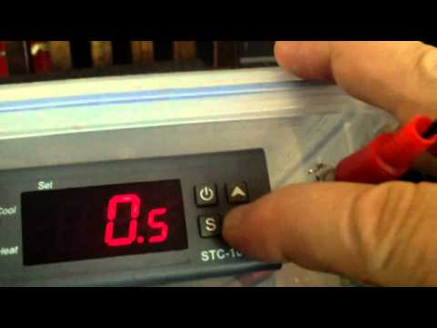 How to program a STC-1000 temperature controller