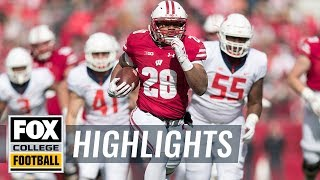Wisconsin vs. Illinois | FOX COLLEGE FOOTBALL HIGHLIGHTS