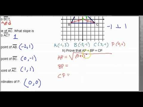 Day 09 HW - Find Centroid and Circumcenter Using Coordinates