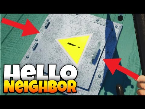 Hello Neighbor - Turning off the Magnet and Windmill! - Hello Neighbor Alpha 4