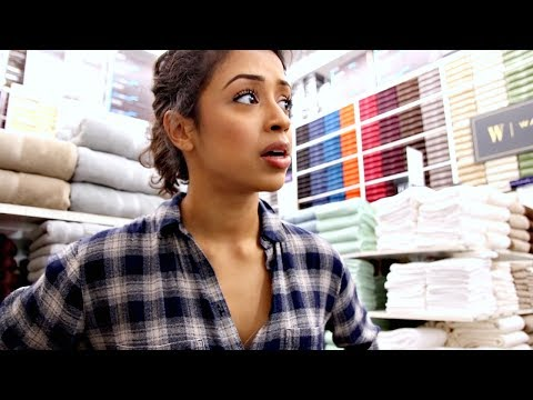 I WAS CAUGHT IN BED... BATH AND BEYOND WITH LIZA!
