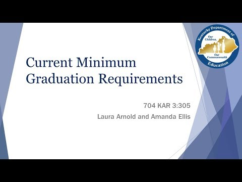 Superintendent Webinar: High School Graduation Requirements