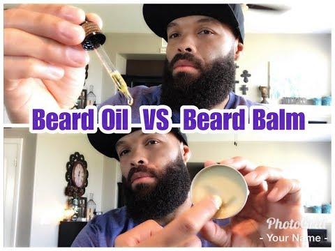 Beard Oil VS Beard Balm / Beard Butter