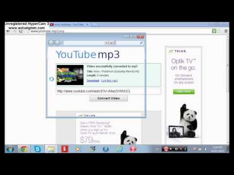 How to put music on to a USB devise