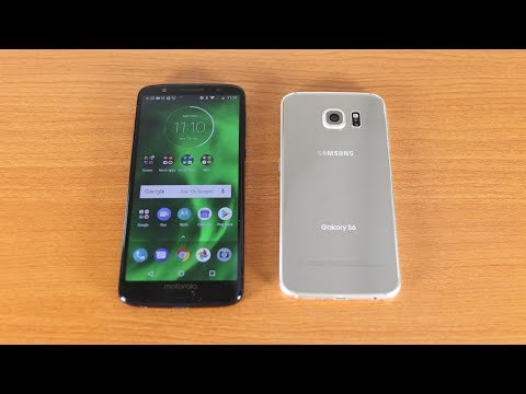 Moto G6 Vs Galaxy S6 Speed Test + Ram Test