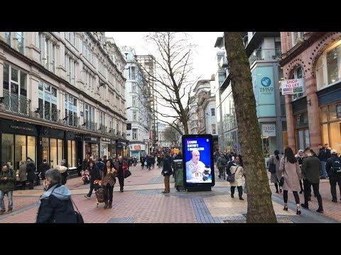 City Center of Birmingham UK