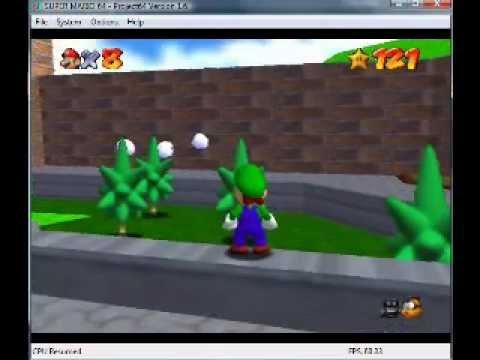 How to unlock Luigi in Super Mario 64! (First Video!)
