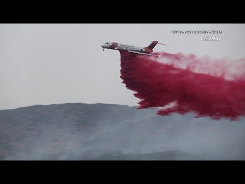 Yucaipa: Bryant Brush Fire