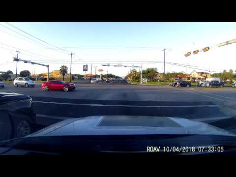 cyclist ignores the hand - get's hit