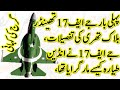 Untold Story of Pakistani Fighter Jet JF-17 Thunder Part II گرج کی کہانی