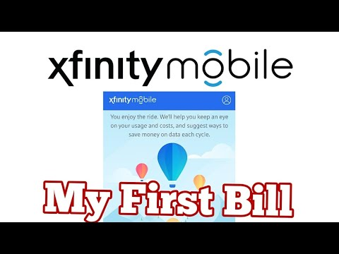 My First Bill From Xfinity Mobile (Comcast) 😨😨😨