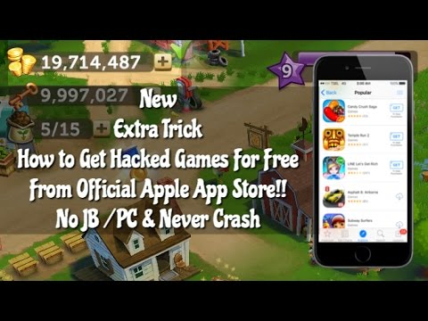[#1] How To Hack iOS 9.3.3 Games For Free No JB/PC 100% Never Crash
