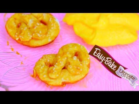 Easy Bake Oven PRETZELS Baking Mini Party Pretzel Dippers
