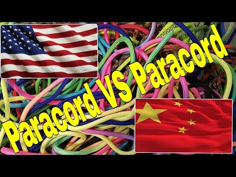 Paracord American Paracord VS The World Paracord